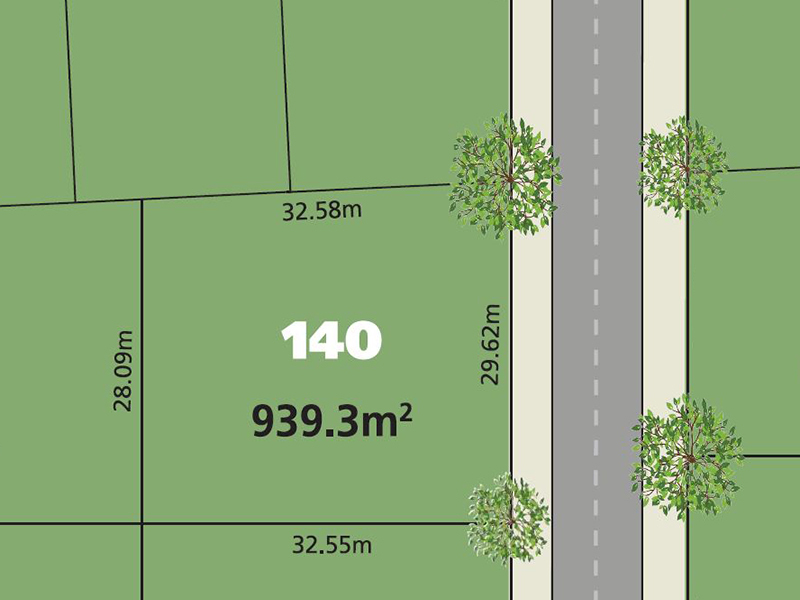 Glenmore Park Lot 140 Proposed  Road