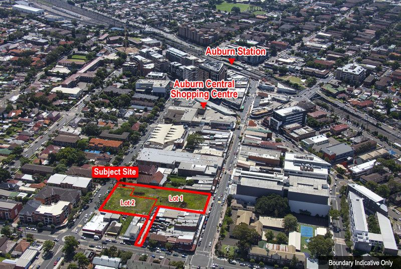 DA Approved Mixed Use Development Sites Auburn CBD - Two Substantial Offerings