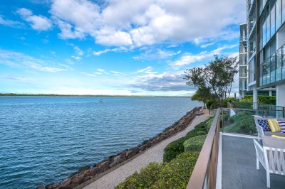 Spectacular Broadwater views from Elevated Ground Floor - Investor Moving On