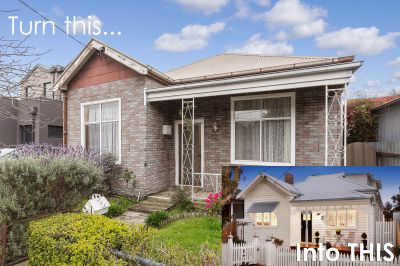 Transform this into THIS! An ideal blank canvas property for an astute eye to make your own.