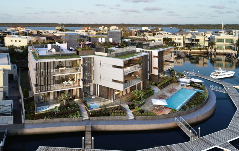 Be one of the first to experience luxury apartment living on Sovereign Islands