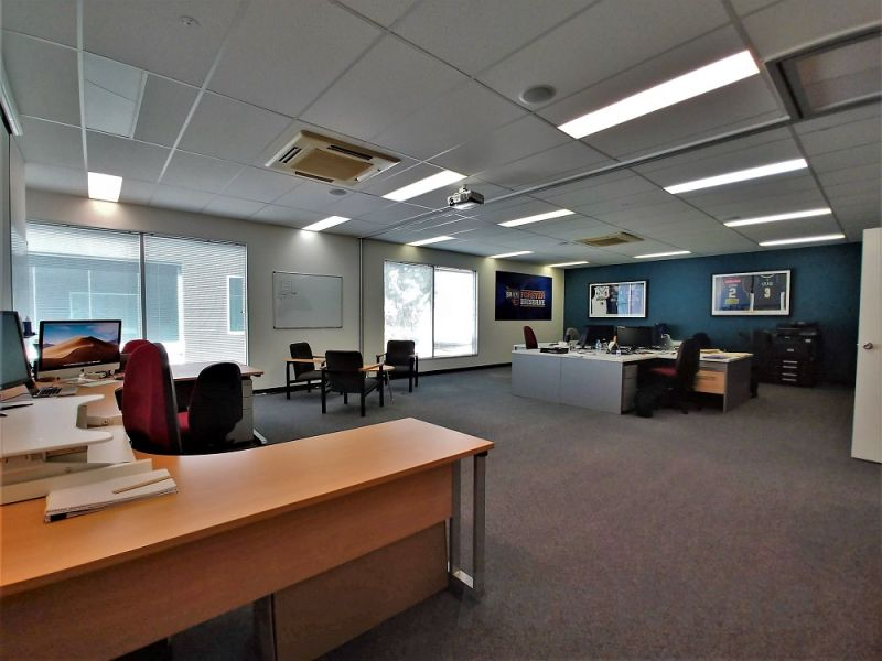 270m2* MURARRIE CORPORATE GRADE OFFICE WITH 66m2* STORAGE