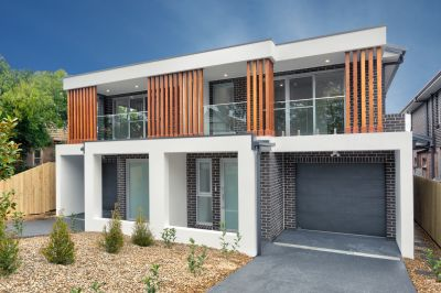 Brand new architect designed home reveals contemporary luxury in a convenient location