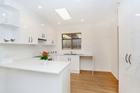 A spacious and newly refurbished home in a social village