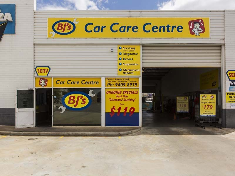 BUSINESS FOR SALE - BJ'S CAR CARE