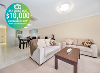 No stamp duty payable! Perfectly located two bedroom villa with open plan living and close to the Clubhouse and amenities