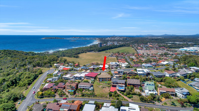 Spectacular Sea Views from this elevated Double Block in prime location on Macauleys Headland