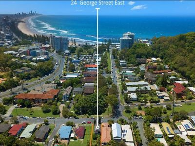 400 Meters Walk to Burleigh Point!!