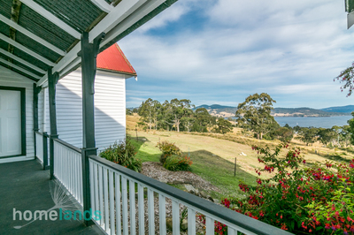 Character Home 12.6 acres with Amazing Water Views