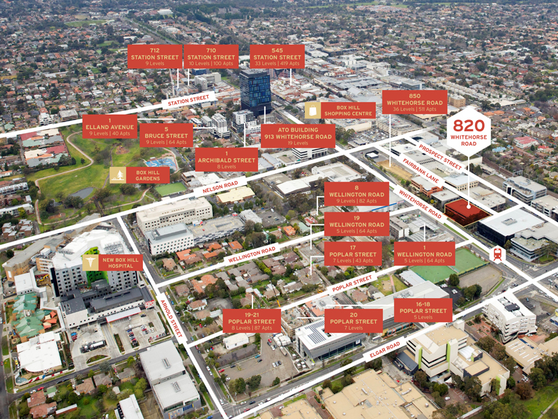 Incredible Development Site in Booming Box Hill