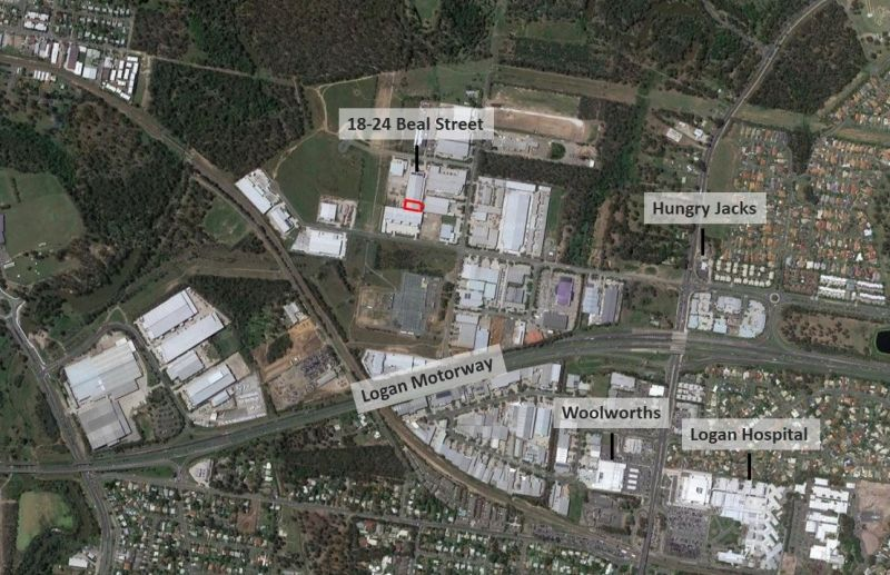 $74.25/M2 NET AS NEW HIGH CLEARANCE WAREHOUSE : OFFICE : RACKED READY TO OCCUPY *