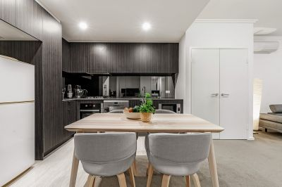 Sleek and modern apartment offering convenient lifestyle