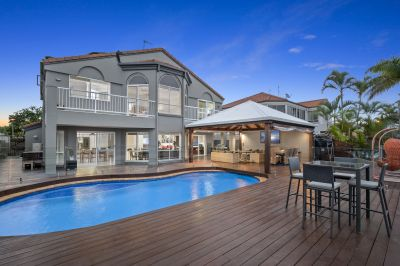 Grand North-Facing Family Home with Huge Water-Frontage and Outdoor Pavilion!