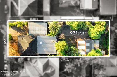 A premium 931sqm level block, 18.5 metre frontage and endless possibilities for Duplex subdivision