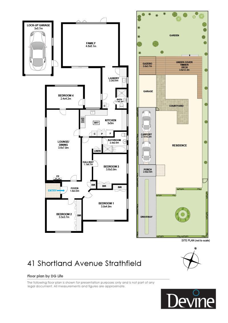 41 Shortland Avenue , Strathfield