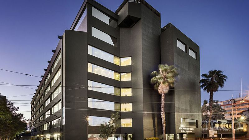 Lease or purchase this spacious office at the iconic Kew Junction Tower
