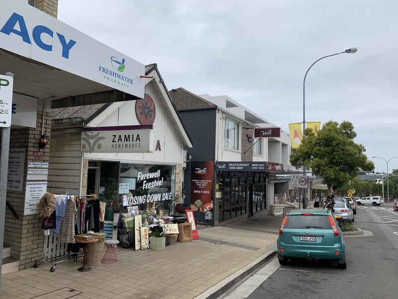 Prime Retail Space in Freshwater Village Available for Lease.