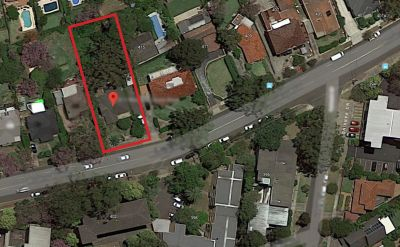 Vacant land for Owner-Builders/developers. This is one not to be missed!