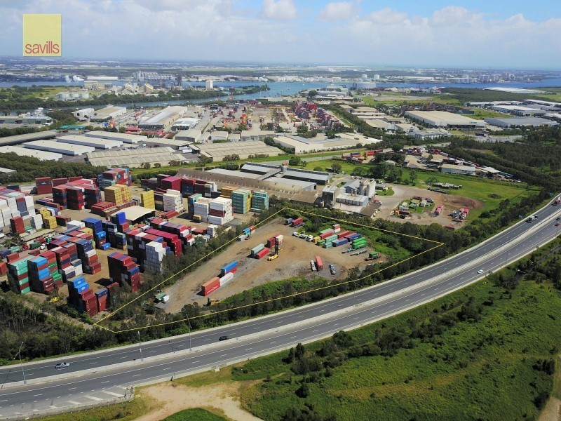 LEASED BY SAVILLS - Prime Hardstand Close to the Port.