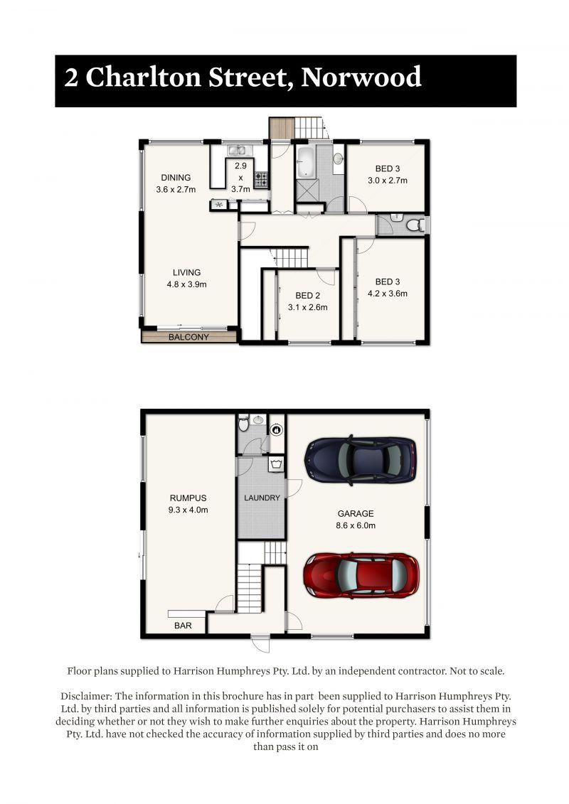 2 Charlton Street Floorplan