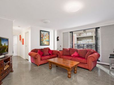 Perfectly Located Apartment with Over sized Balcony