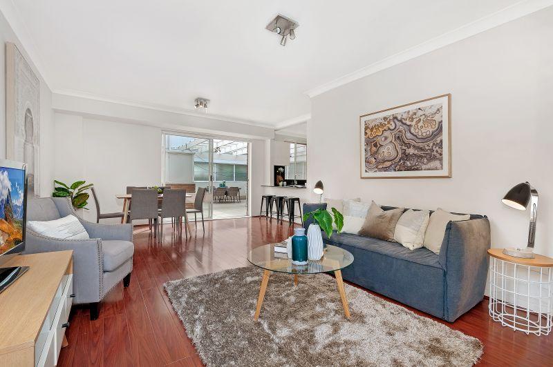 Spacious apartment in convenient location