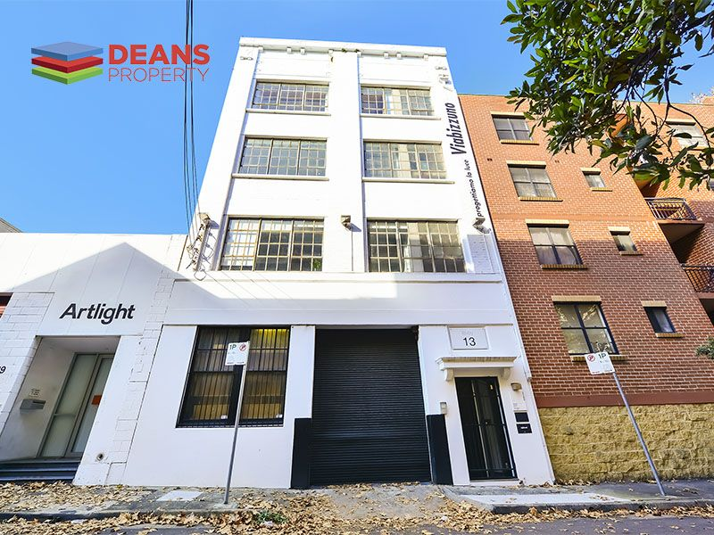 Amazing Creative Office Space in Chippendale - Inspect Today!