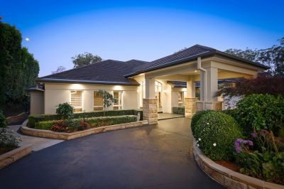 stunning beauty. prestige home in prestige location. stunning smaller acreage with beautiful gardens.
