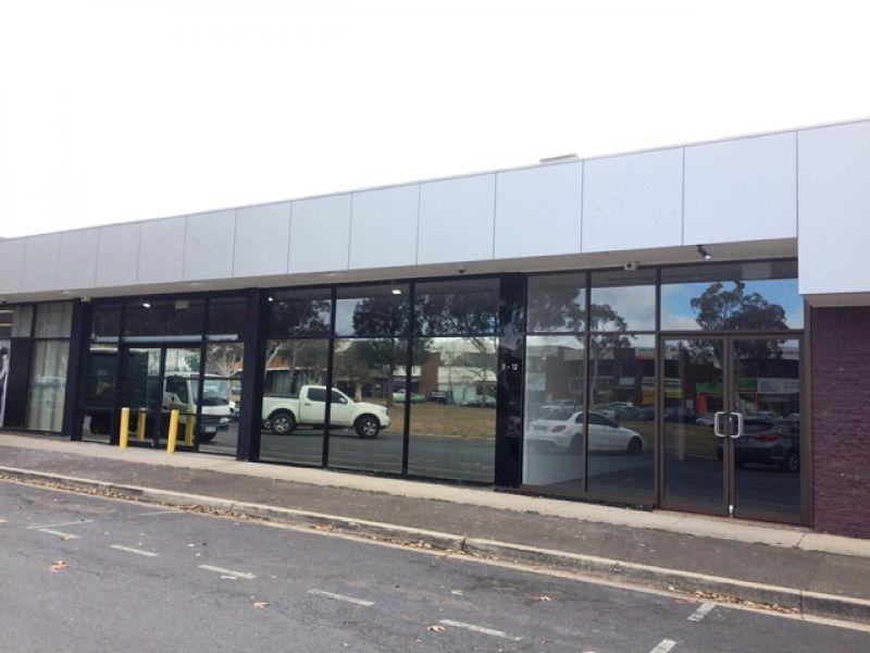 Glass Shopfront - Prime Retail Position