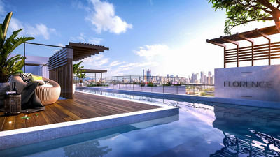 FLORENCE APARTMENTS - AUSTRALIA'S FIRST RESIDENTIAL SUSPENDED SKY POOL