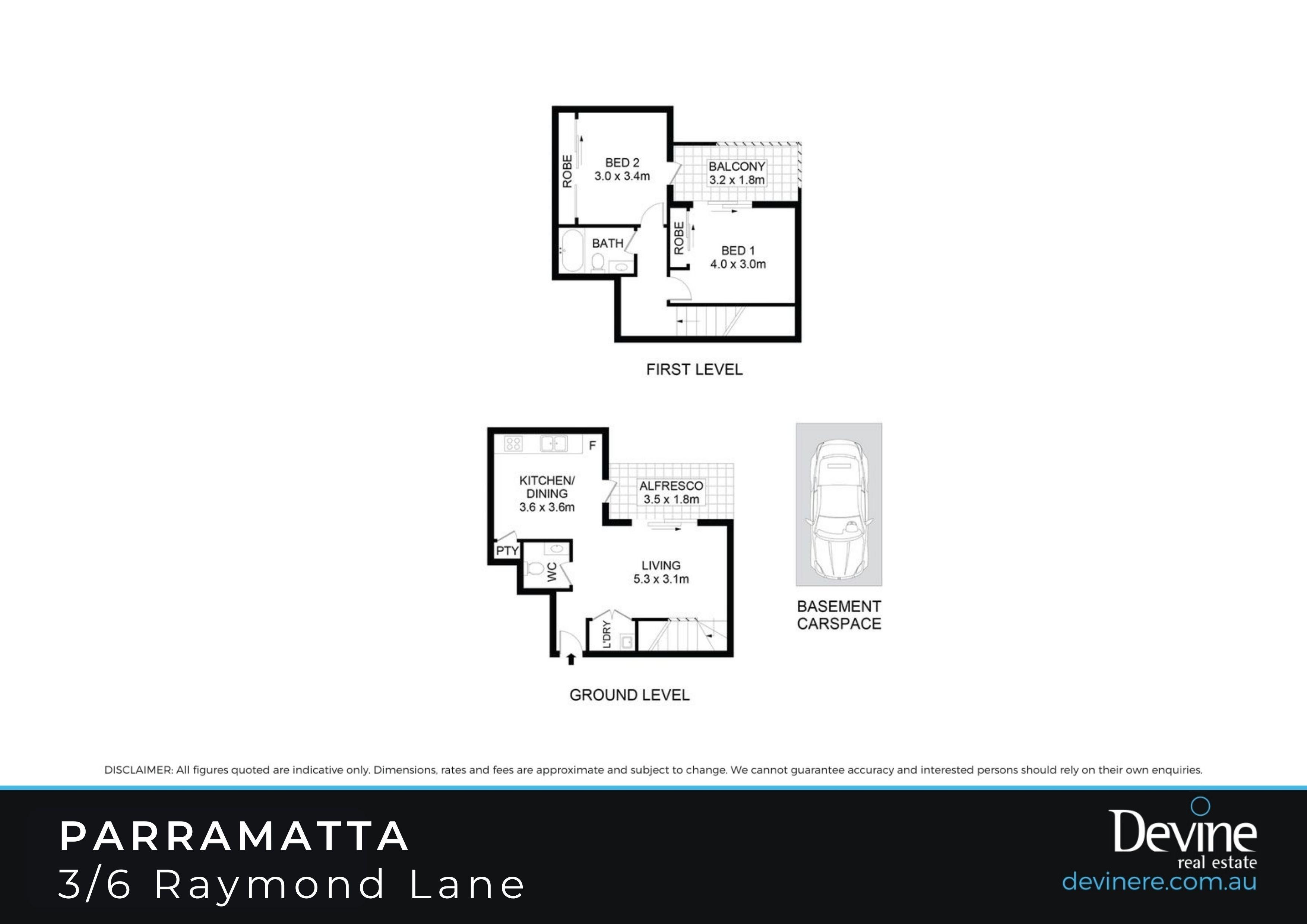 3/6 Raymond Lane , Parramatta