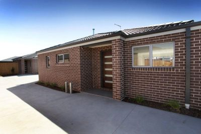 Brand new with ease of access to main arterials, yet nestled in a quiet corner location