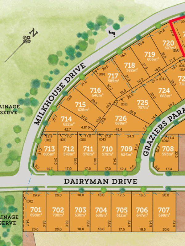 Lot 721 Milkhouse Drive RAYMOND TERRACE 2324