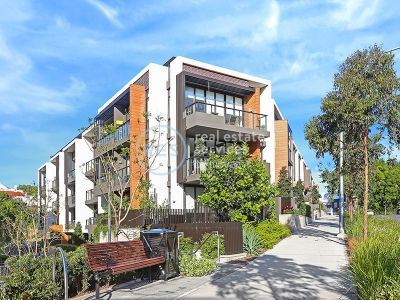 Contemporary North Facing 2-Bedroom Apartment with Parking in Glebe