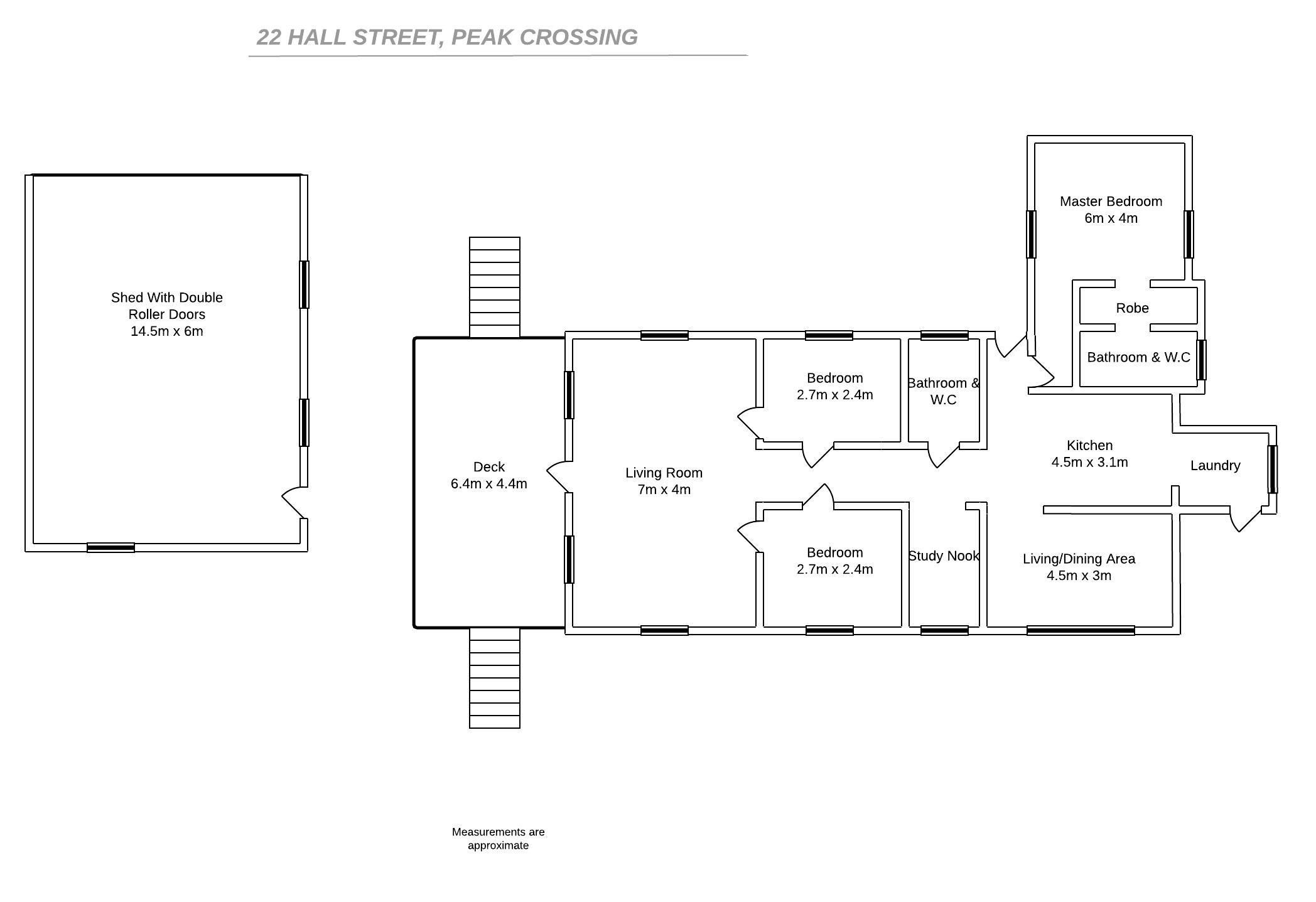 22 Hall Street, Peak Crossing