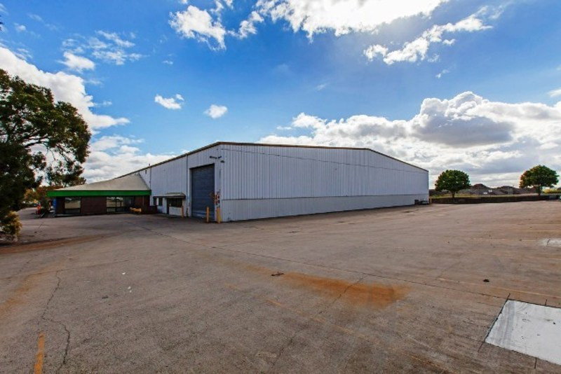 Freestanding Warehouse + Security Fenced Yard