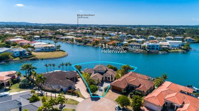 Oyster Cove Estate Home with North Facing 46m Waterfront on 1034m2