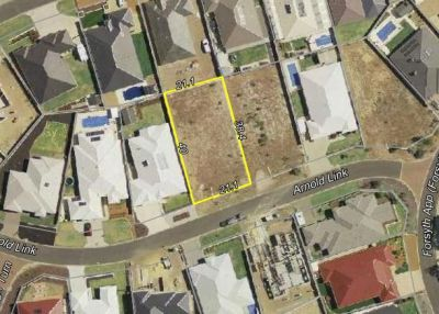 BUILD YOUR DREAM HOME ON THIS SPACIOUS BLOCK!