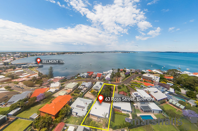Extra Large Block with Views over Belmont Bay