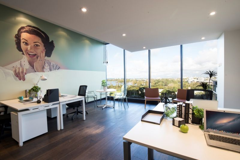 Stay inspired with breathtaking Port Phillip Bay views from your office!