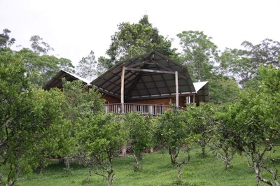 House for Community living with off grid organic self sufficiency