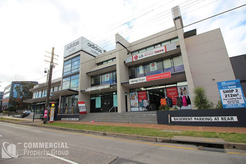 BE AMONG THE BIGGEST BRANDS - RETAIL/SHOWROOM ON PARRAMATTA ROAD