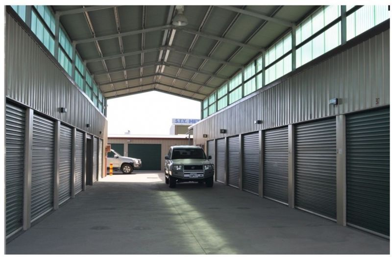 STATE OF THE ART SECURITY STORAGE WITH 24/7 ACCESS