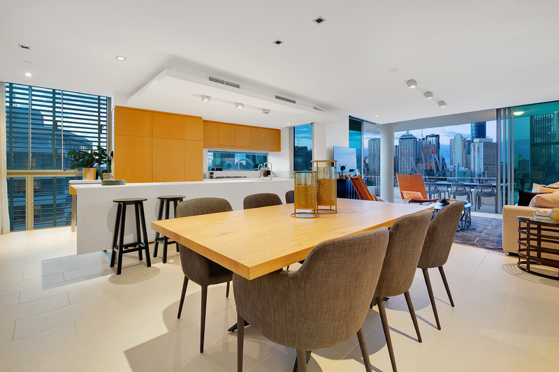 'One of a Kind' Sub Penthouse with Iconic Brisbane River & City Views