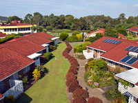 Nestled in a great location close to the village Club House amenities