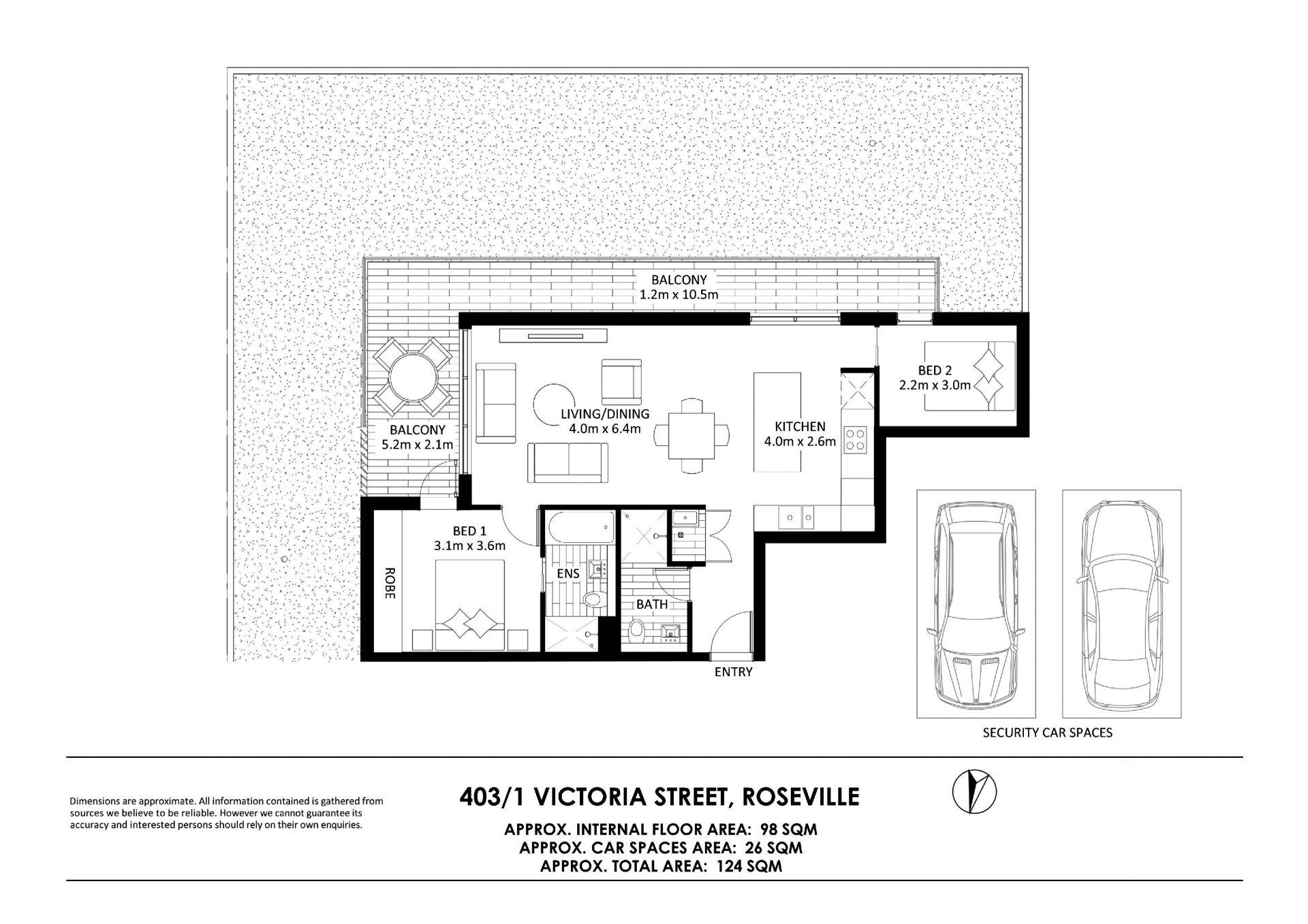 403/1 Victoria Street Roseville 2069