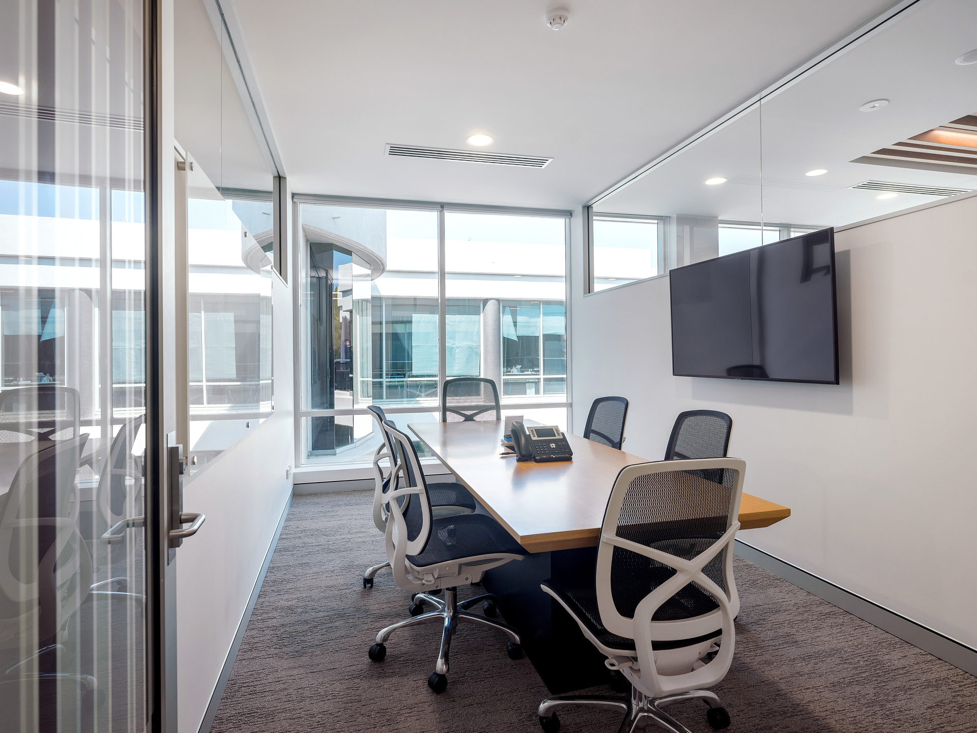 6 person office $4300 per month including car park