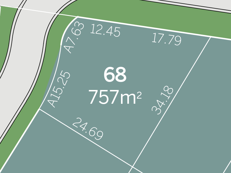Silverdale Lot 68 Proposed Road