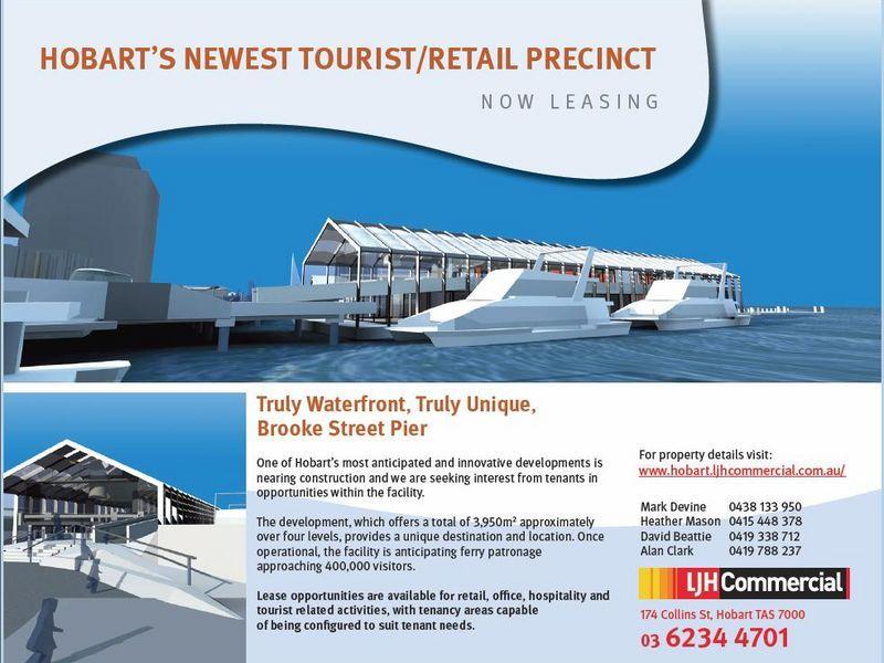 HOBART'S NEWEST TOURIST/RETAIL PRECINCT