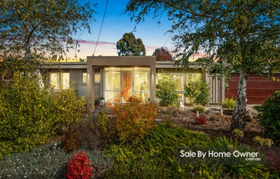 Mid Century Modern 4BR Home For Sale